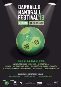 Cartel Carballo Handball Festival 2019